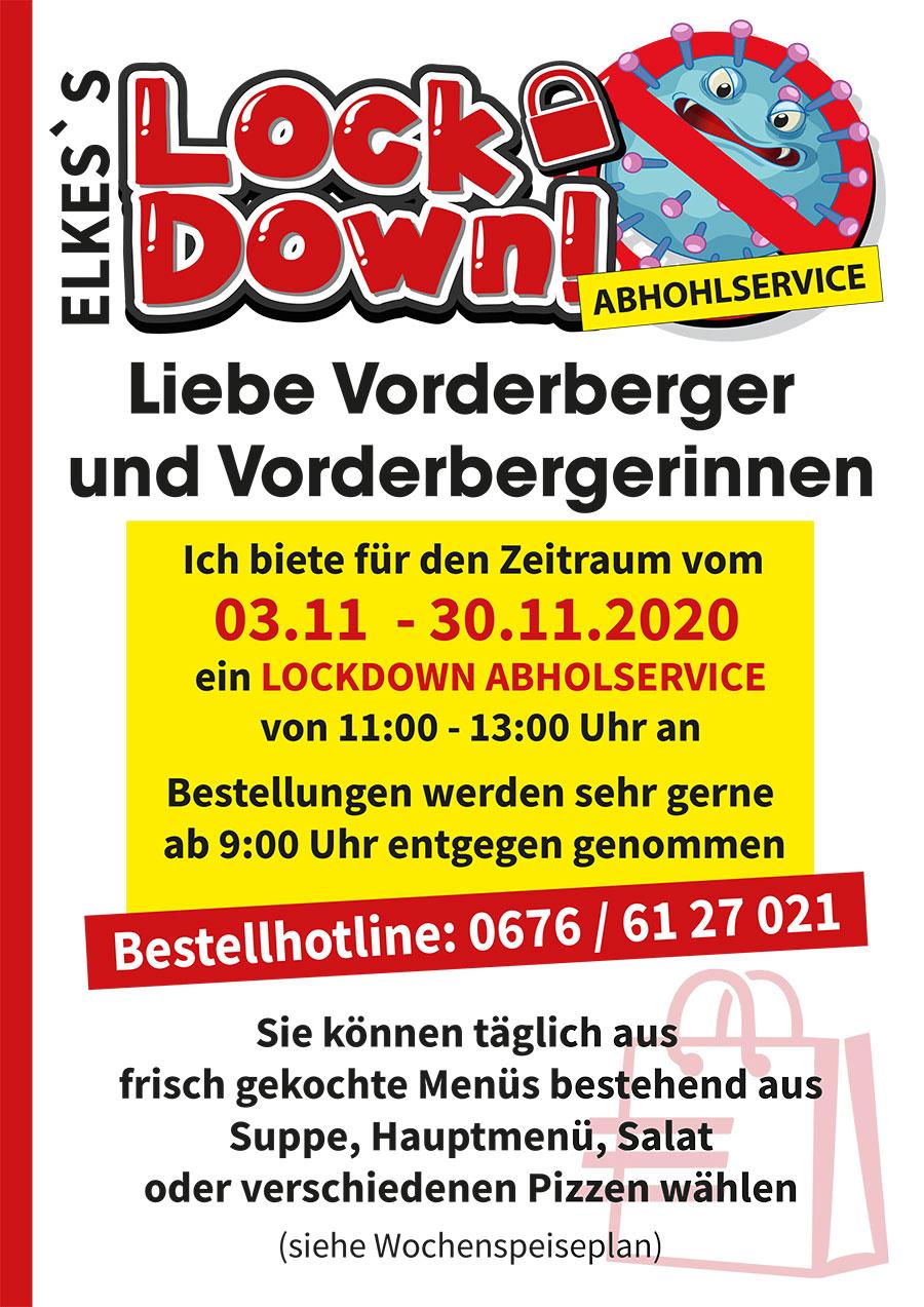 Ortsburg Vorderberg kocht im Lockdown aus